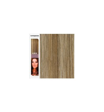 Super Model Clip In Human Hair Extensions 18 Inches. Colour 27/S