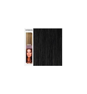 Super Model Clip In Human Hair Extensions 18 Inches. Colour 2