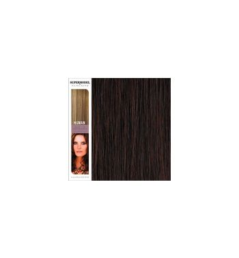 Super Model Clip In Human Hair Extensions 18 Inches. Colour 32