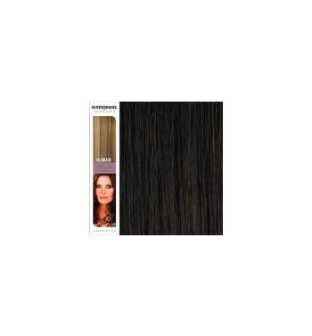 Super Model Clip In Human Hair Extensions 18 Inches. Colour 4