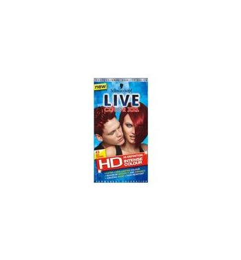 SCHWARZKOPF LIVE Color  Hair color red passion 43