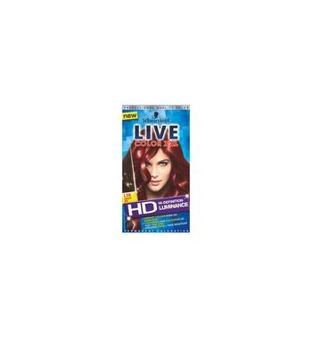 SCHWARZKOPF LIVE Color  Hair color L38 Radiant red