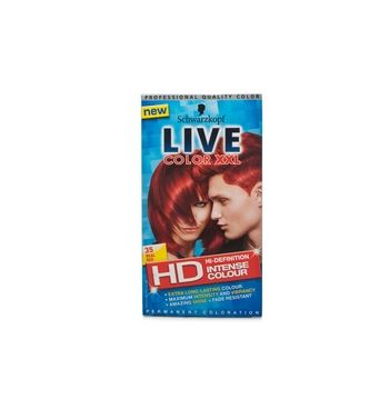 SCHWARZKOPF LIVE Color  Hair color real red 35