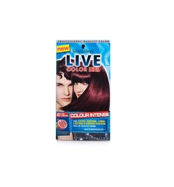 SCHWARZKOPF LIVE Color  Hair color plum perfection 47