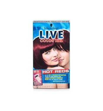 SCHWARZKOPF LIVE Color  Hair color dark spice 52