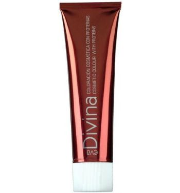 Divina Hair dye color 6.3  Golden Dark Blonde