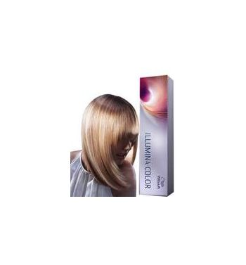 wella ILLumina 5/43 Light red gold brown hair dye color