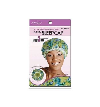 Satin sleep cap